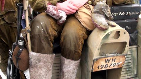 Military nurse Stock Video Footage