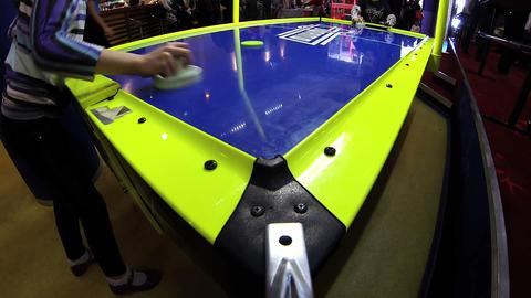 Air hockey Footage