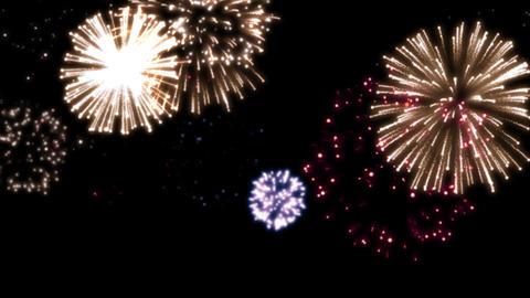 fireworks scene 001 Animation