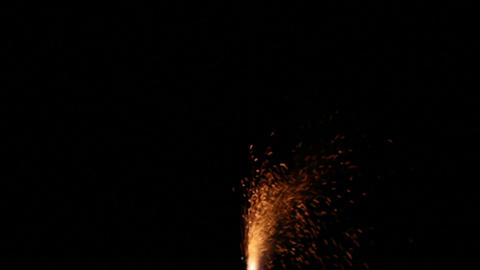 Fireworks Foutain 2 Stock Video Footage