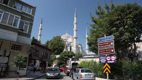 Blue mosque edit 9460 HD Footage