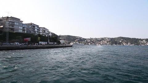 Travel along Bosphorus Stock Video Footage