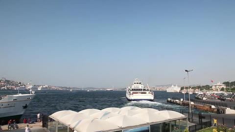 Ferry pier Footage