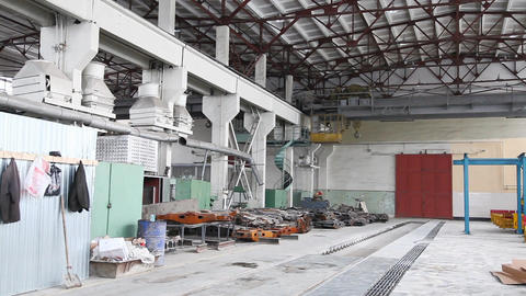 Factory building Stock Video Footage