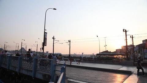 Galata bridge Footage