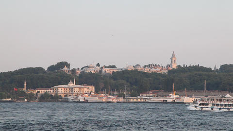 Golden Horn bay Stock Video Footage