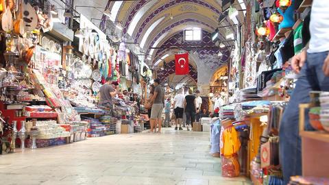 Grand bazaar interior Footage