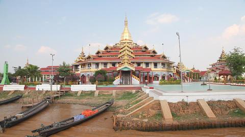 Phaung Daw Oo pagoda Footage