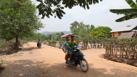 Samkar village, Myanmar Footage
