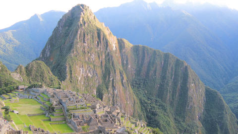 Machu Picchu zoom out tl 01 HD Footage