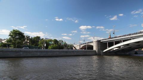 Travel along Kremlin Stock Video Footage