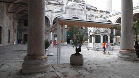Yeni Cami Mosque Stock Video Footage