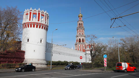 Novodevichy Convent Footage
