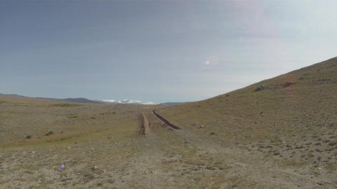 Off road jeep river 0472 sequence HD Stock Video Footage