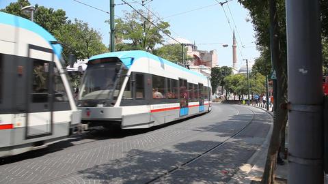 Rapid tram Footage