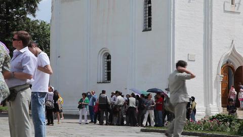 Holy Trinity Saint Sergius Lavra Stock Video Footage