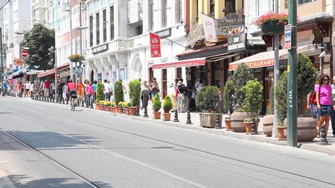Divan yolu street Footage