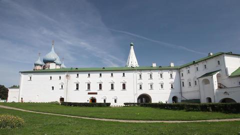 Kremlin in Suzdal Stock Video Footage