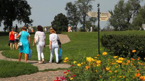 Kremlin in Suzdal Footage