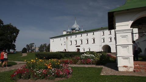 Kremlin in Suzdal Stock Video Footage