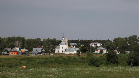 Temple in Suzdal Footage