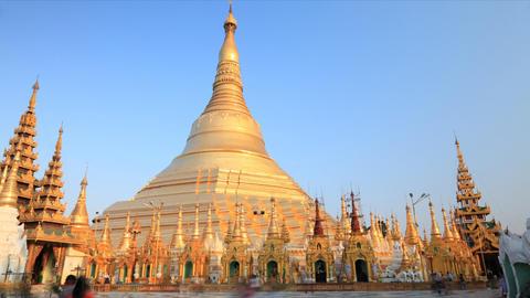 Shwedagon Pagoda timelapse Footage