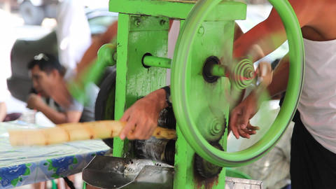 Cane juice Stock Video Footage