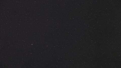 Night Stars Timelapse stock footage