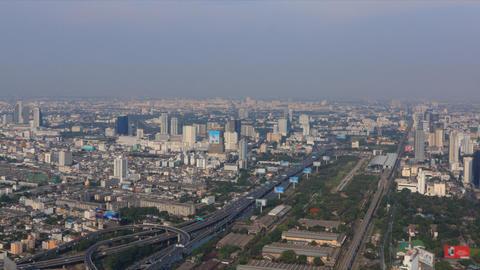 Bangkok landscape timelapse Stock Video Footage