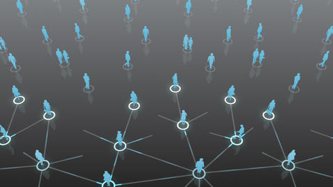 Social Network Connection C 5b 2 HD Stock Video Footage