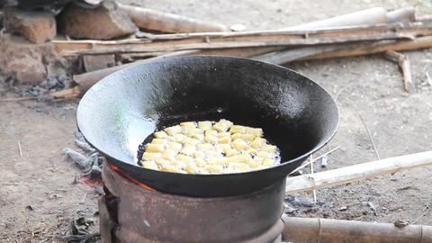 Food cooking Footage