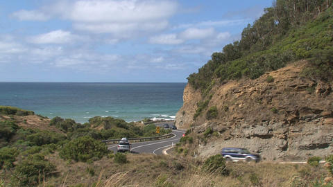 Greatoceanroad cars 01 Footage