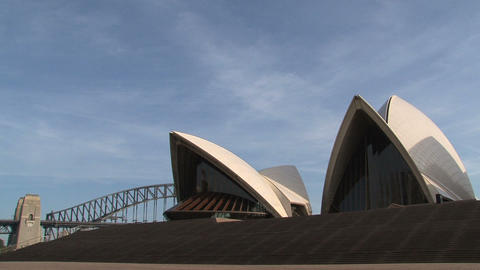 Opera House, Sydney stock footage