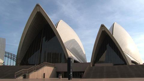 Pan Opera House, Sydney Stock Video Footage
