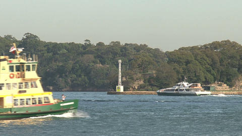 Ferry pan Stock Video Footage