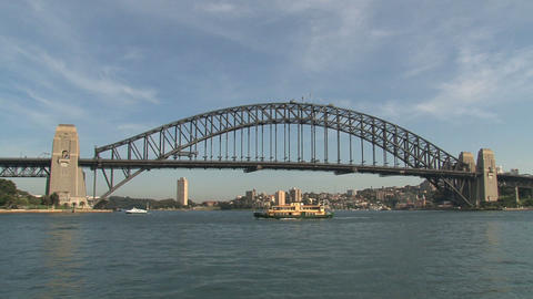 Harbor bridge Footage