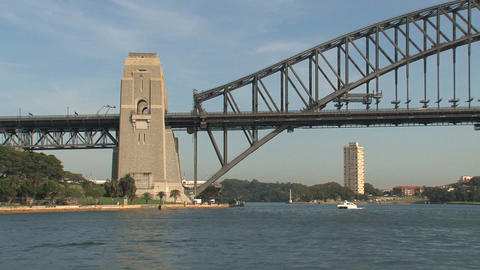 Harbor bridge Stock Video Footage
