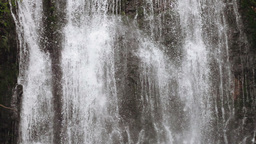 Detail of a waterfall Stock Video Footage