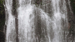 Detail of a waterfall Footage