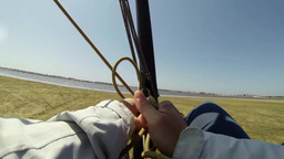 Windcar pilot POV Stock Video Footage
