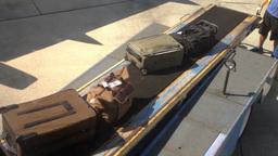 Baggage Handlers Stock Video Footage