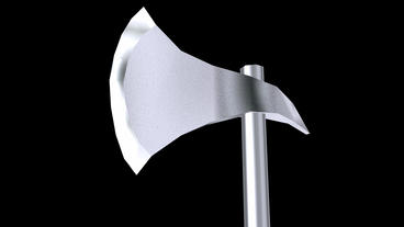 stainless steel ax Stock Video Footage