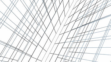 abstract grid lines tunnel,virtual tech internet background Stock Video Footage