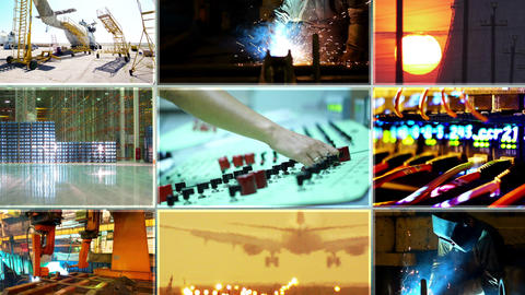 Business montage Stock Video Footage
