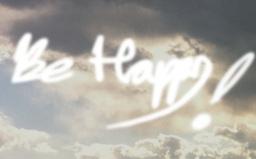 VJ LOOP ysissy_0011_Be Happy Stock Video Footage