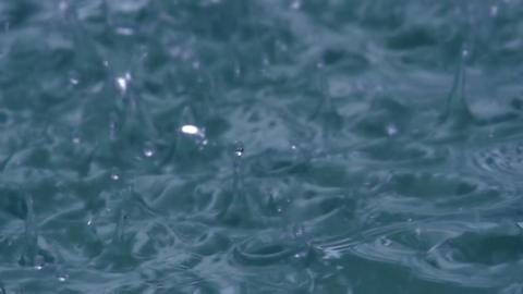 Heavy Rain HD Stock Video Footage
