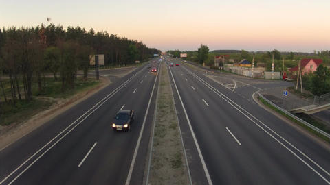 road traffic Stock Video Footage