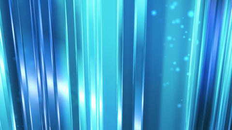Abstract Blue Glass Background Loop Animation