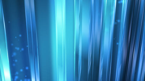 Abstract Blue Glass Background Loop Stock Video Footage