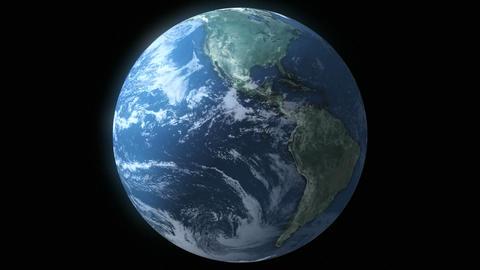 Earth Loop Stock Video Footage